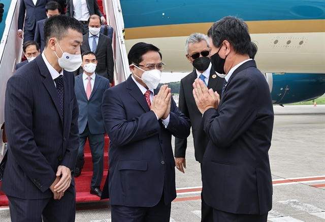PM Phạm Minh Chính arrives in Indonesia for ASEAN Leaders Meeting