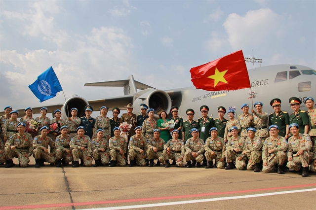 Việt Nams peacekeeping force wins high appreciation
