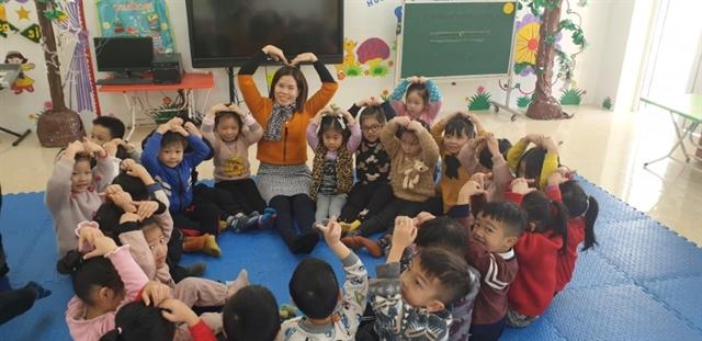 Kindergarten teacher on island dedicated to hercareer