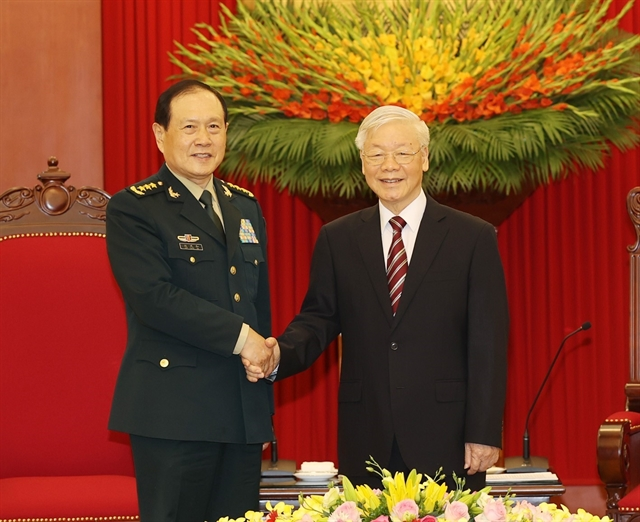 VN and China look to boost relations through armies