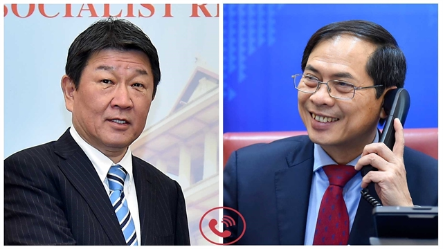 Foreign ministers of Việt Nam Japan seek to promote partnership