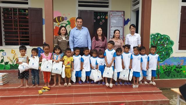 Israel helps Quảng Trị upgrade schools after floods