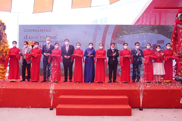 Central Retail launches its largest shopping mall in Thái Nguyên