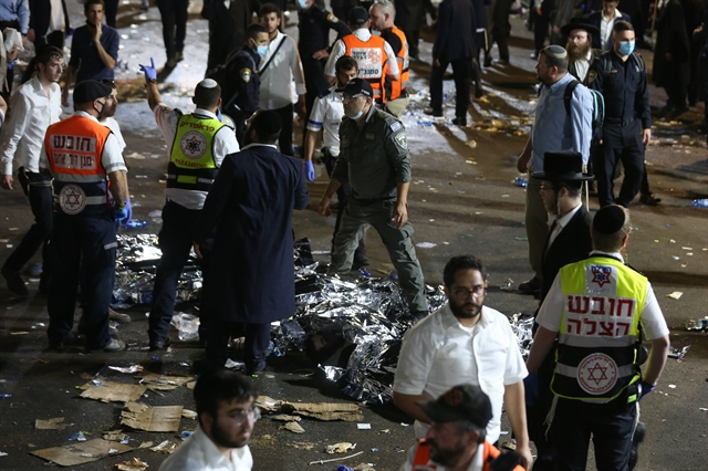 Israel pilgrimage stampede kills at least 44