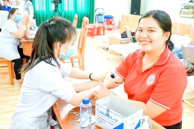 Tragic accident inspires young woman to set up blood donation club
