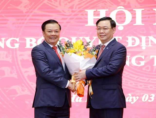 Finance minister Đinh Tiến Dũng assigned as Secretary of Hà NộiParty Committee