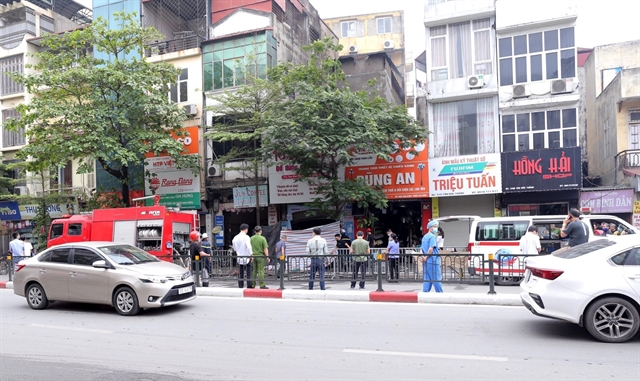 Shop blaze in Hà Nội kills four including 10-year-old girl