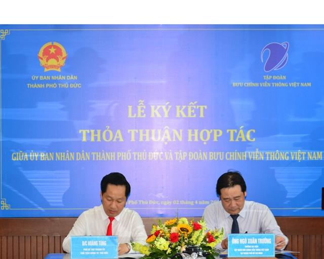 VNPT to develop Thủ Đức cityinto smart urban area