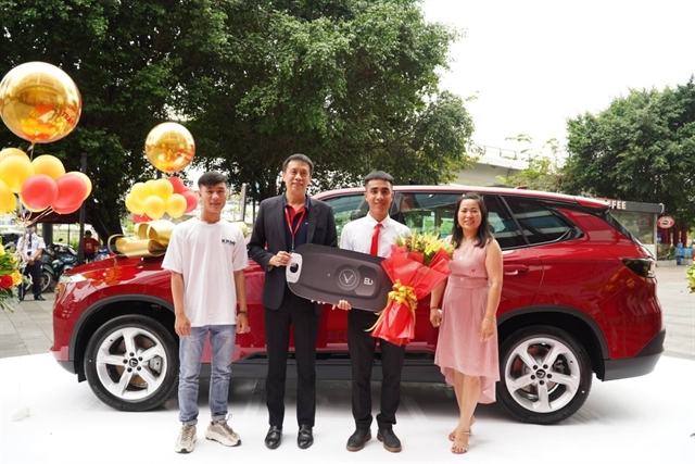 Vietjet gives VND1.5 billion car to lucky passenger during year-end festival season