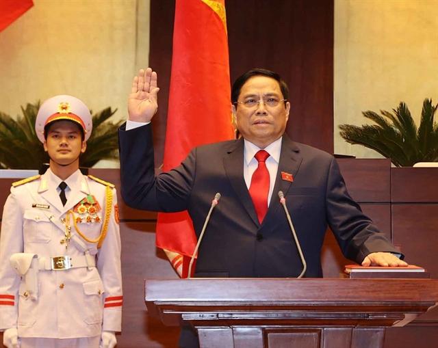 Phạm Minh Chính elected Prime Minister of Việt Nam