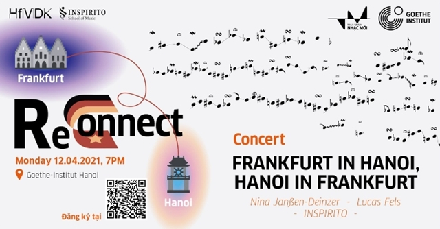 German and Vietnamese musicians to perform at e-concert