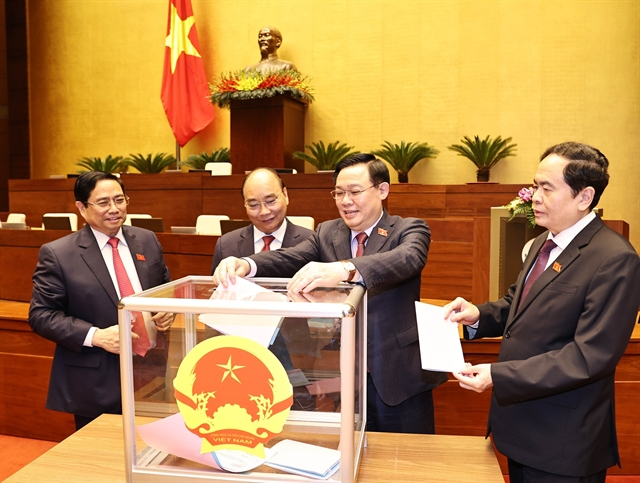 PM Chính presents nominations for new cabinet members to National Assembly