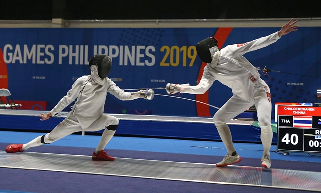 Fencers face uphill battle to win Olympics slots