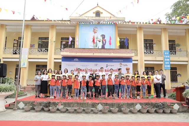 Helmets for Kids programme reduces injuries and fatalities due to traffic accidents in Vĩnh Phúc Province
