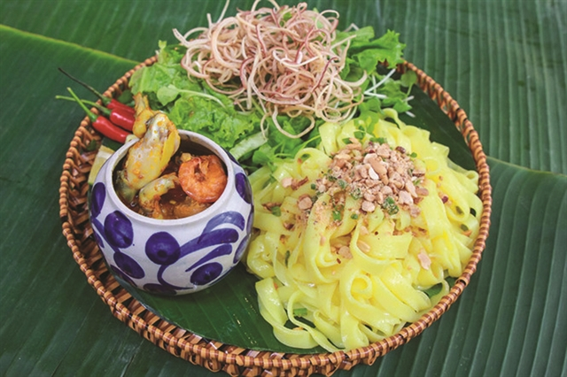 Noodle creativity in Đà Nẵng knows no boundaries