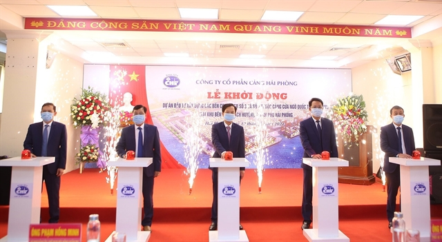 New container terminals to be built in HảiPhòng