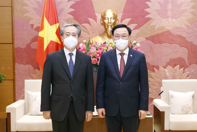 National Assembly Chairman welcomes Chinese Ambassador