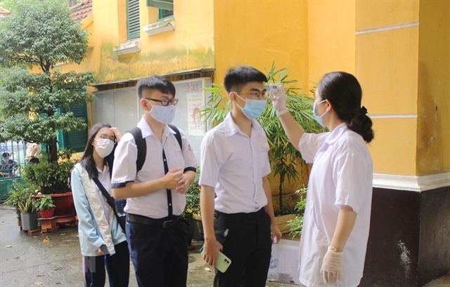 HCM City to ensure COVID-19 protocols at high school graduation entrance exams
