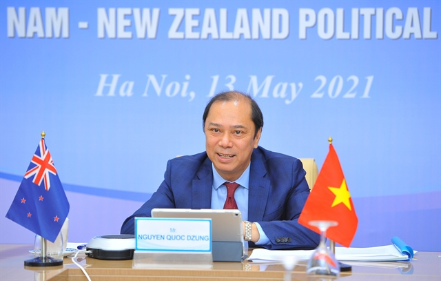 Việt Nam New Zealand hold 12th political consultation