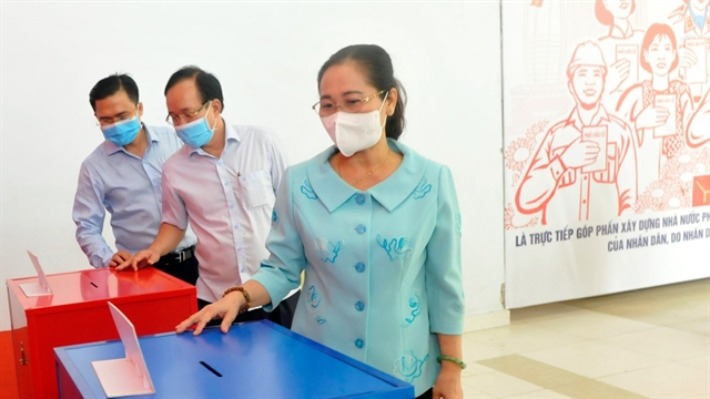 HCM City prepares for voting in upcoming elections