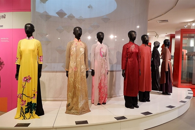 Áo Dài exhibition marks International Museum Day