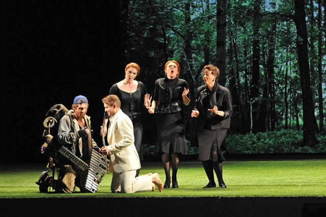 The Magic Flute film at Deutches Haus on May 29