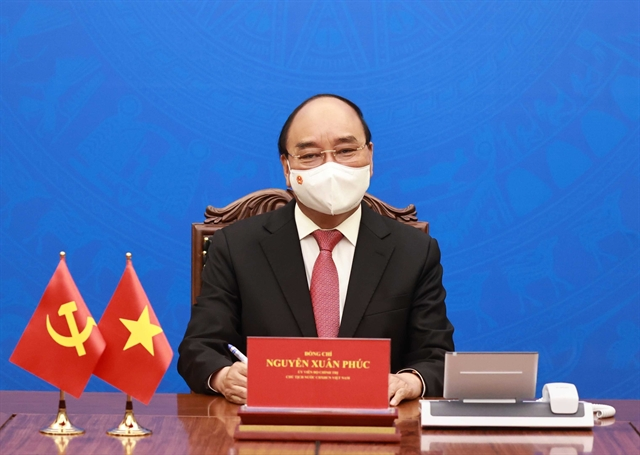 Vietnamese Chinese Presidents hold talks to boost relations