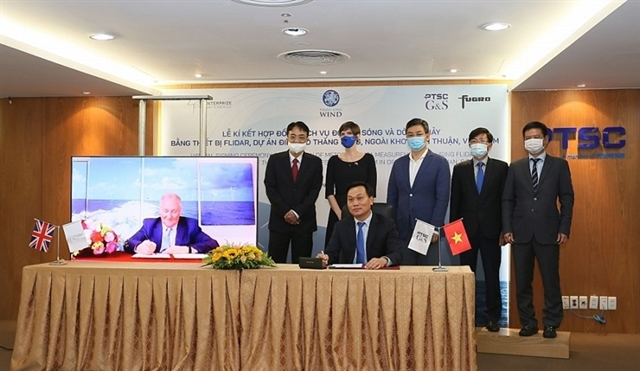 Floating LiDAR supplying contract signed for Thăng Long Wind project