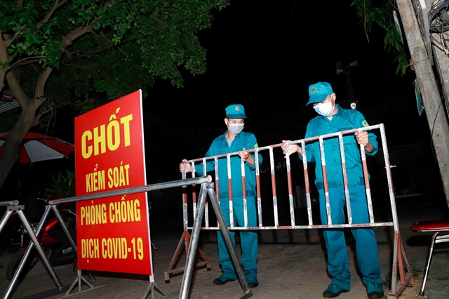 Eight people in Vĩnh Phúc one in Hà Nội test positive for COVID-19