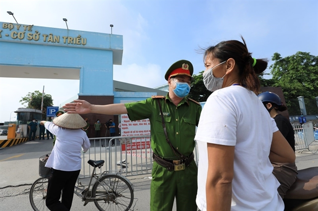 Ten positive cases reported in National Cancer Hospital in Hà Nội