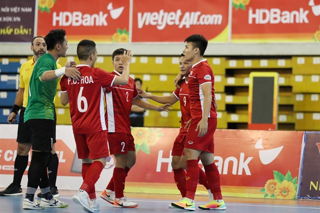 Việt Nam aim to grab second World Cup slot in Futsal
