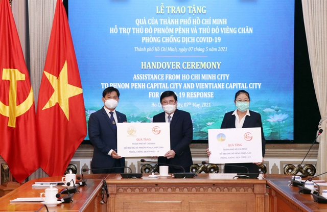 HCM City supports Vientiane Phnom Penh in COVID-19 fight