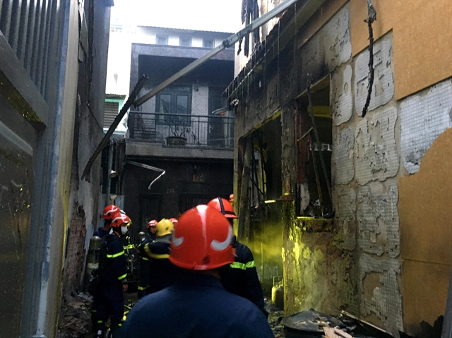 Four children among eight casualties in HCM City fire