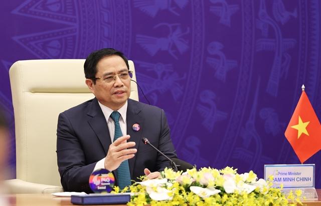 Remarks by PM Phạm Minh Chính at 2021 P4G Seoul Summit