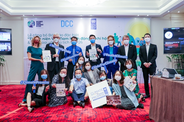 Vietnamese young people join climate actions