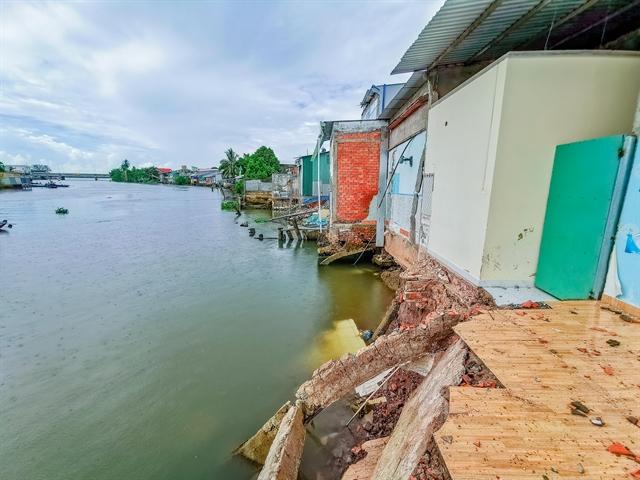 Cần Thơ to build embankment on Trà Nóc River to prevent erosion
