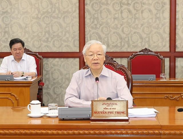 Party chief praises efforts of those fighting pandemic