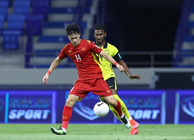 Midfielder takes chance to shine in Việt Nam World Cup campaign
