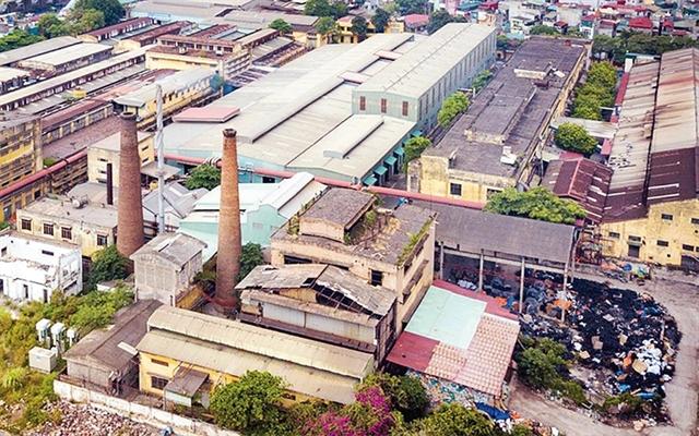HàNộis relocation of universities hospitals industrial establishment still slow