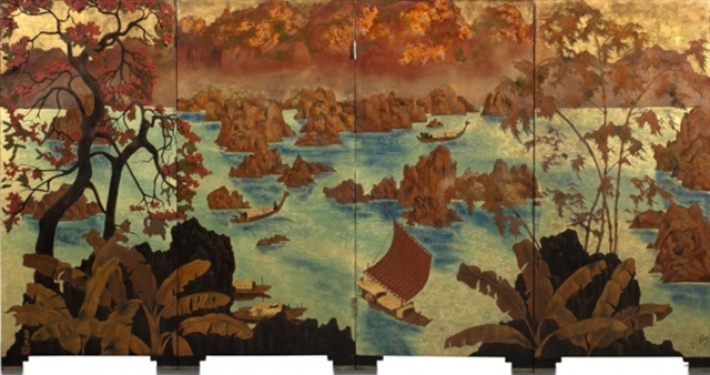 Vietnamese painting auctioned off for US1 million