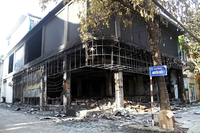 Cafe blaze leaves six dead in Nghệ An Province