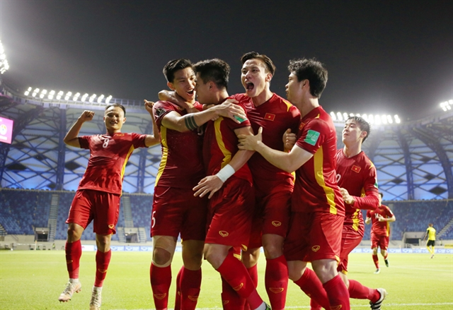 Việt Nam qualify for 2023 Asian Cup finals