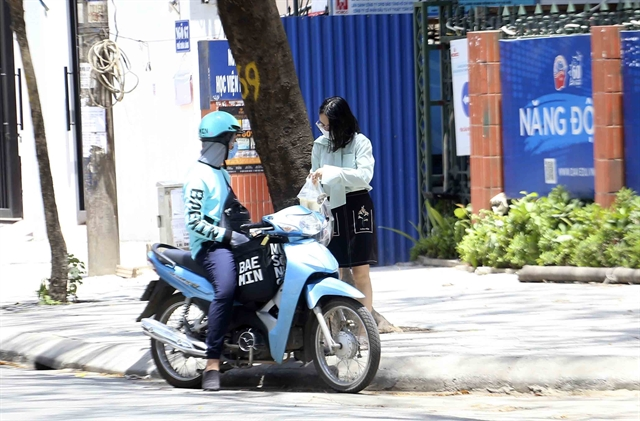 Busy season for delivery drivers during pandemic