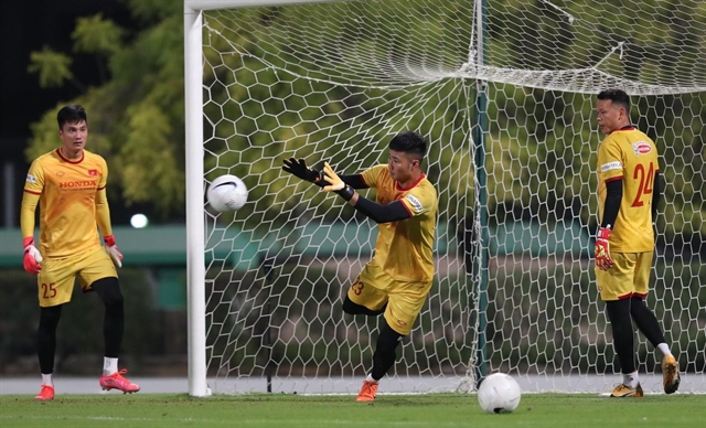 After maturing goalkeeper Toản stakes claim for starting spot