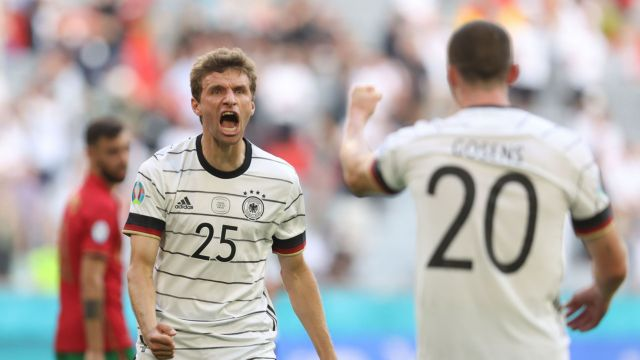 Bubbling Germany back on track at Euro 2020 says Mueller