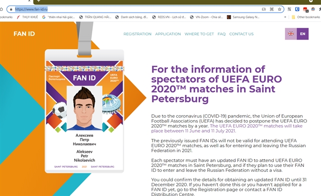Vietnamese fans warned about use of FAN IDs to travel to Russia