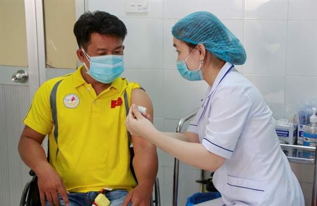 Athletes hope to be vaccinated soon