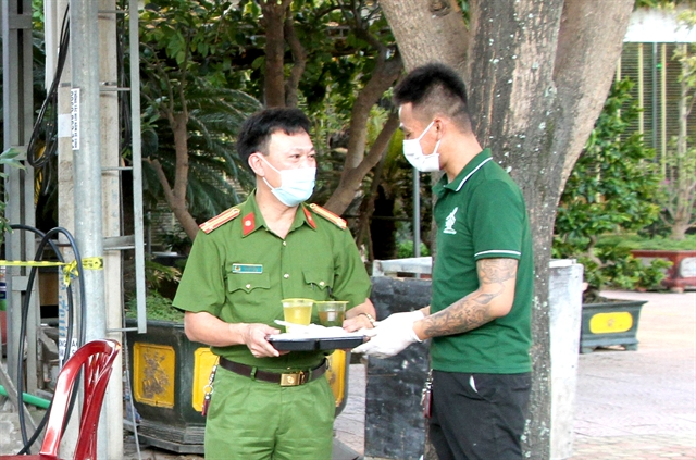 Free meals to support Nghệ An fronline forces
