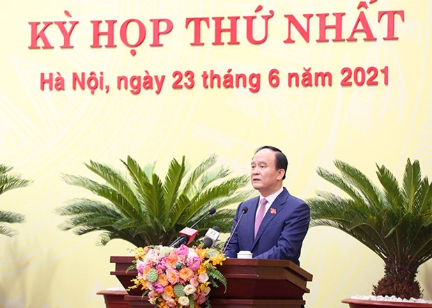 Hà Nộis new Peoples Council holds first meeting elects leaders