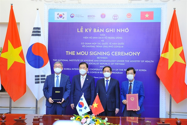 Việt Nam wants RoK to assist in COVID-19 recovery: foreign minister